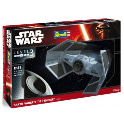 Darth Vader´s Tie Fighter, Star Wars. Escala 1:121. Marca revell. Ref: 03602.