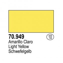 Acrilico Model Color, Amarillo claro, ( 010 ). Bote 17 ml. Marca Vallejo. Ref: 70.949.