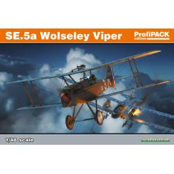Caza SE.5a Wolseley Viper. Edición profipack. Escala 1:48. Marca Eduard. Ref: 82131.