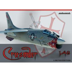 Avión de caza F8-E Crusader . Escala 1:48. Marca Eduard. Ref: 11110.