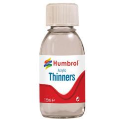Acrylic thinner ( Diluyente acrílico ). Bote 125 ml. Marca Humbrol. Ref: AC7433.