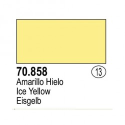Acrilico Model Color, Amarillo Hielo, ( 013 ). Bote 17 ml. Marca Vallejo. Ref: 70.858.