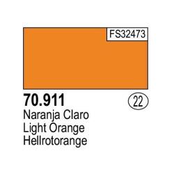 Acrilico Model Color, Naranja claro, ( 022 ). Bote 17 ml. Marca Vallejo. Ref: 70.911.