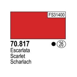 Acrilico Model Color, Escalarta, ( 026 ). Bote 17 ml. Marca Vallejo. Ref: 70.817.