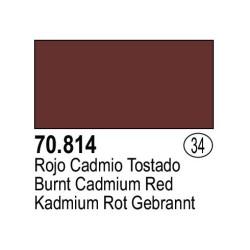 Acrilico Model Color, Rojo tostado, ( 034 ). Bote 17 ml. Marca Vallejo. Ref: 70.814.