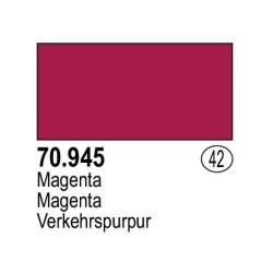 Acrilico Model Color, Magenta , ( 042 ). Bote 17 ml. Marca Vallejo. Ref: 70.945.
