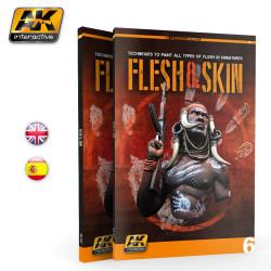 Libro Carnes y pieles. Marca AK Interactive. Ref: AK242.
