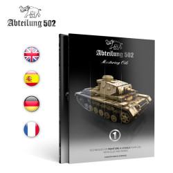 Libro técnicas de pintura con óleos sobre vehículos militares. Marca AK Interactive. Ref: ABT603.