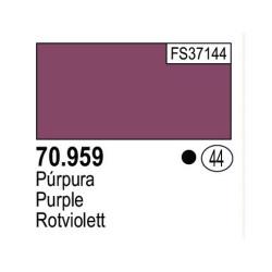 Acrilico Model Color, Púrpura, ( 044 ). Bote 17 ml. Marca Vallejo. Ref: 70.959.