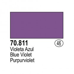 Acrilico Model Color, Violeta azul, ( 046 ). Bote 17 ml. Marca Vallejo. Ref: 70.811.
