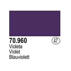 Acrilico Model Color, Violeta, ( 047 ). Bote 17 ml. Marca Vallejo. Ref: 70.960.