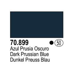 Acrilico Model Color, Azul prusia oscuro, ( 050 ). Bote 17 ml. Marca Vallejo. Ref: 70.899.