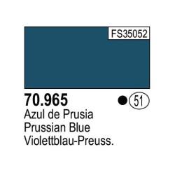 Acrilico Model Color, Azul prusia , ( 051 ). Bote 17 ml. Marca Vallejo. Ref: 70.965.