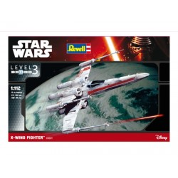 X-Wing Fighter, Star Wars. Escala 1:112. Marca revell. Ref: 03601.