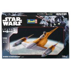 NAboo Starfighter, Star Wars. Escala 1:109. Marca revell. Ref: 03611.