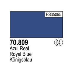 Acrilico Model Color, Azul real, ( 054 ). Bote 17 ml. Marca Vallejo. Ref: 70.809.