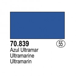 Acrilico Model Color, Azul ultramar, ( 055 ). Bote 17 ml. Marca Vallejo. Ref: 70.839.