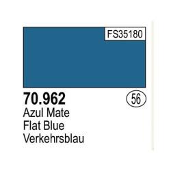 Acrilico Model Color, Azul mate, ( 056 ). Bote 17 ml. Marca Vallejo. Ref: 70.962.
