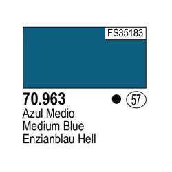 Acrilico Model Color, Azul medio, ( 057 ). Bote 17 ml. Marca Vallejo. Ref: 70.963.