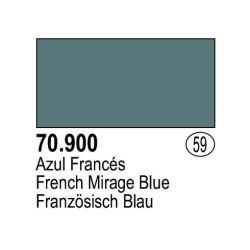 Acrilico Model Color, Azul frances, ( 059 ). Bote 17 ml. Marca Vallejo. Ref: 70.900.