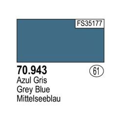 Acrilico Model Color, Azul gris, ( 061 ). Bote 17 ml. Marca Vallejo. Ref: 70.943.