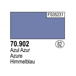 Acrilico Model Color, Azul azur, ( 062 ). Bote 17 ml. Marca Vallejo. Ref: 70.902.