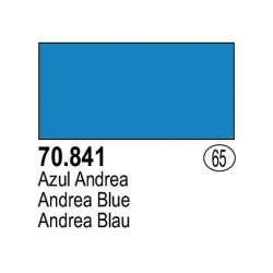 Acrilico Model Color, Azul andrea, ( 065 ). Bote 17 ml. Marca Vallejo. Ref: 70.841.