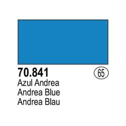 Acrilico Model Color, Azul andrea, ( 065 ). Bote 17 ml. Marca Vallejo. Ref: 70.841.