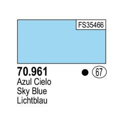 Acrilico Model Color, Azul cielo, ( 067 ). Bote 17 ml. Marca Vallejo. Ref: 70.961.