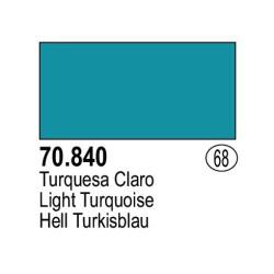 Acrilico Model Color, Turquesa claro, ( 068 ). Bote 17 ml. Marca Vallejo. Ref: 70.840.