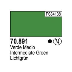 Acrilico Model Color, Verde medio, ( 074 ). Bote 17 ml. Marca Vallejo. Ref: 70.891.
