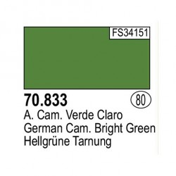 Acrilico Model Color, Ger. Cam. verde claro, ( 080 ). Bote 17 ml. Marca Vallejo. Ref: 70.833.