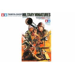 Estados Unidos Gunners, granatomotchiki en combate.. Escala 1:35. Marca Tamiya. Ref: 35086.