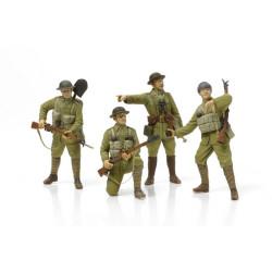 Set Infantería británica de WWI con equipo y armas pequeñas . Escala 1:35. Marca Tamiya. Ref: 32409.