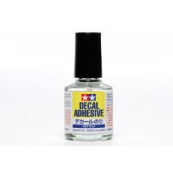 Adhesivo per decal, Adhesivo de calcas. Bote de 10 ml. Marca Tamiya. Ref: 87176.