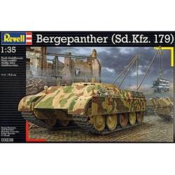 Carro de combate Bergepanther ( Sd.Kfz.179 ). Escala 1: 35. Marca Revell. Ref: 03238.