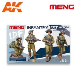 Personal de infanteria IDF ( 2000- ). Escala 1:35. Marca Meng. Ref: HS-004.