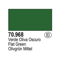 Acrilico Model Color, Verde Oliva oscuro, ( 083 ). Bote 17 ml. Marca Vallejo. Ref: 70.968.