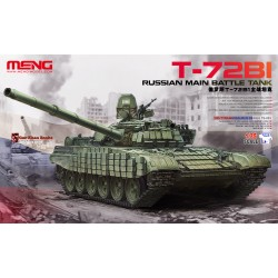 Russian Main Battle Tank T-72B1. Escala 1:35. Marca Meng. Ref: TS-033.
