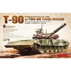 Russian Main Battle Tank T-90w/TBS-86. Escala 1:35. Marca Meng. Ref: TS-014.