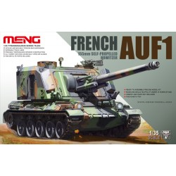AUF1 155 mm Self-propelled francés. Escala 1:35. Marca Meng. Ref: TS-004.