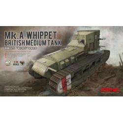 British Medium Tank MK. A Whippet. Escala 1:35. Marca Meng. Ref: TS-021.