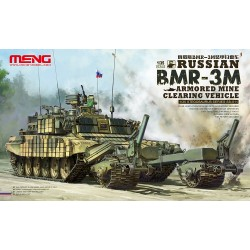 Russian BRM-3M Armored Mine Clearing. Escala 1:35. Marca Meng. Ref: SS-011.