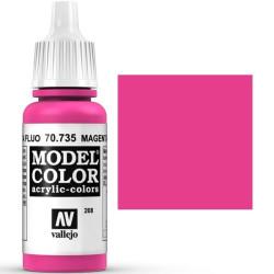 Acrilico Model Color, Magenta fluorescente, ( 208 ). Bote 17 ml. Marca Vallejo. Ref: 70.735.