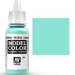 Acrilico Model Color, Patina verdín, ( 202 ). Bote 17 ml. Marca Vallejo. Ref: 70.832.