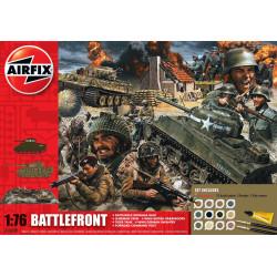 Set Frente en la Batalla de  Gift . Escala 1:76. Marca Airfix. Ref: A50009.