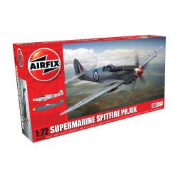 Caza Supermarine Spitfire PR.XIX. Escala 1:72. Marca Airfix. Ref: A02017A.