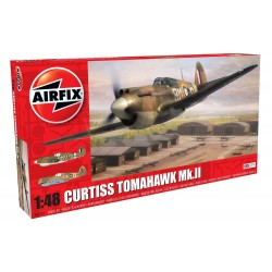 Curtiss Tomahawk Mk.II. Escala 1:48. Marca Airfix. Ref: A05133.
