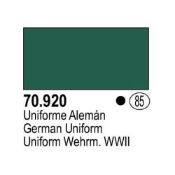 Acrilico Model Color, Uniforme Alemán, ( 085 ). Bote 17 ml. Marca Vallejo. Ref: 70.920.