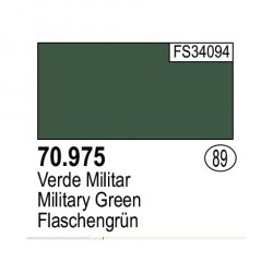 Acrilico Model Color, Verde Militar ( 089 ). Bote 17 ml. Marca Vallejo. Ref: 70.975.